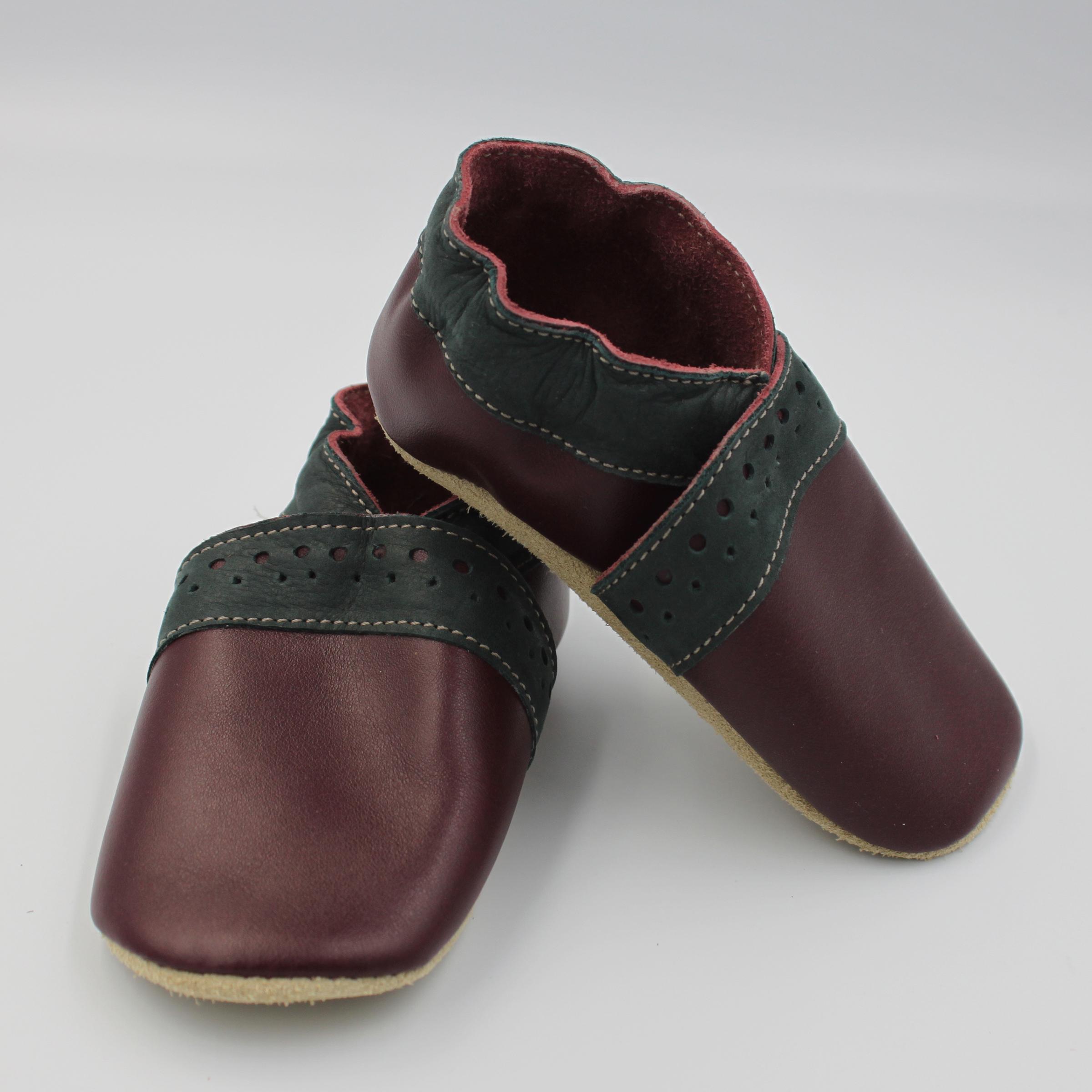 chaussure cuir enfant